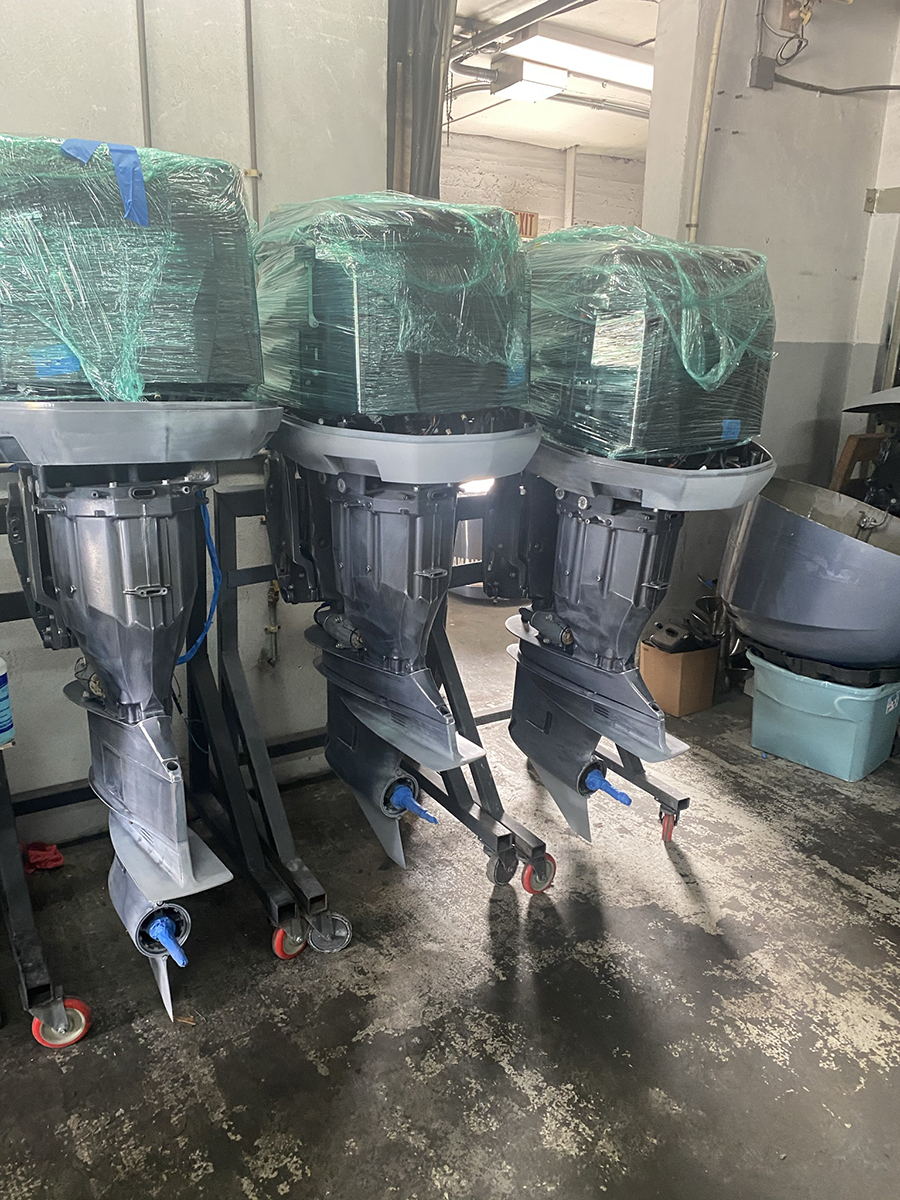 custom outboard paint designs